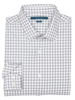 Perry Ellis Mens Slim Fit Ombre Check Shirt