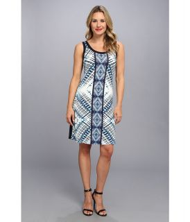 Karen Kane Reflection Tank Dress Womens Dress (Blue)