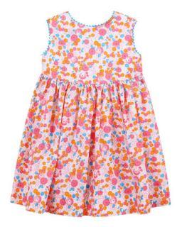 Baby Girls Casais Sundress, Coral, 12 24 Months   Oscar de la Renta   Coral