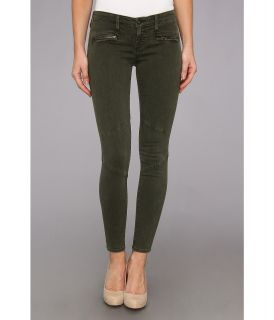 AG Adriano Goldschmied The Moto Legging in Sulfur Dark Autumn Olive Womens Casual Pants (Pewter)