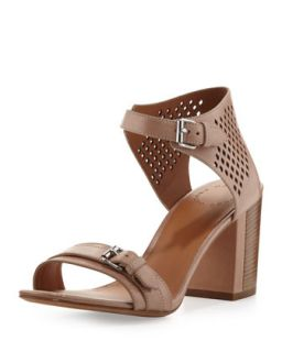 Perforated Leather City Sandal, Nude   MARC by Marc Jacobs   Nude (36.0B/6.0B)