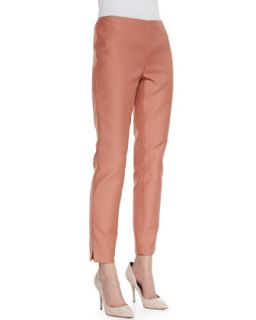 Womens Stanton Straight Leg Ankle Pants, Adobe   Lafayette 148 New York