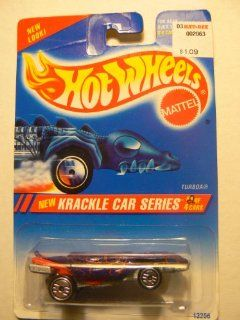 Hot Wheels Krackle Car Series Turboa #2 of 4 Factory Error Card Says #1 of 4: Everything Else