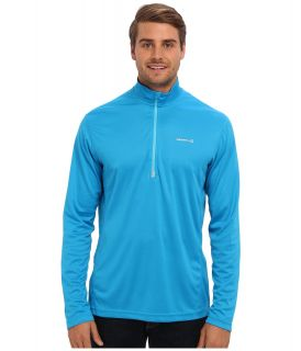 Merrell Morpheous Half Zip Mens Long Sleeve Pullover (Blue)