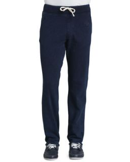 Mens Cotton Fleece Sweatpants, Indigo   True Religion   Indigo (XX LARGE)