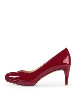 Chelsea Low Heel Patent Platform Pump, Red   Cole Haan   Velvet red (40.0B/10.