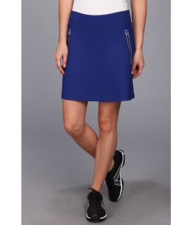 Nike Golf No Sew Knit Skort Womens Skort (Blue)