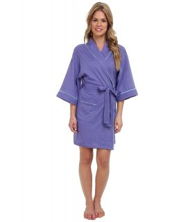 BOTTOMS O.U.T GAL Knitted Jersey Kimono Robe Womens Pajama (Purple)
