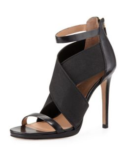 Sarita 2 Cross Strap Sandal, Black   VC Signature   Black (39.5B/9.5B)