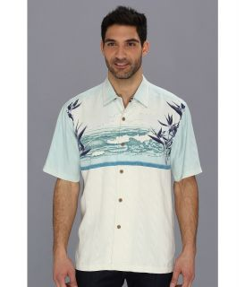 Tommy Bahama Vintage Tides Camp Shirt Mens Short Sleeve Button Up (Multi)