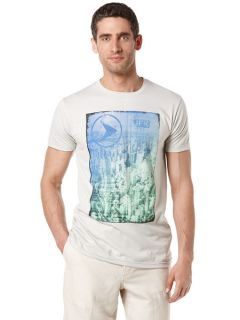 Perry Ellis Mens JFK Flight Crew Tee