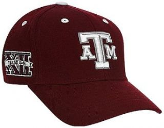 Texas A&M Aggies Adult Adjustable Hat : Baseball Caps : Clothing