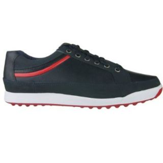 FootJoy Contour Casual Spikeless 54268 Men's Navy Ruby Red Shoes