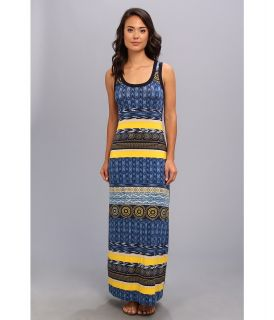 Karen Kane Las Palmas Maxi Dress Womens Dress (Multi)