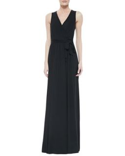 Crawford Self Tie Maxi Dress, Black, Womens   Rachel Pally   Black (1X (14/16))