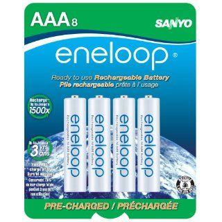 eneloop AAA 1800 cycle, Ni MH Pre Charged Rechargeable Batteries, 8 Pack (discontinued by manufacturer): Electronics