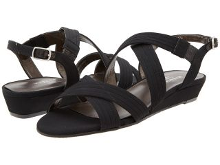 Rose Petals Jessa Womens Wedge Shoes (Black)