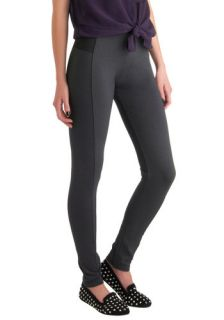 On the Go Glam Leggings in Charcoal  Mod Retro Vintage Pants