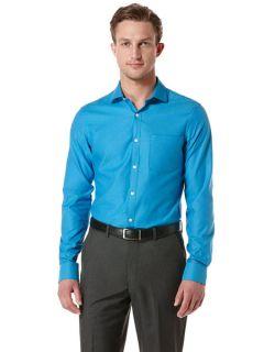 Perry Ellis Mens Slim Fit Solid Oxford Shirt