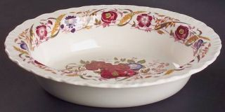 Wedgwood Cornflower 9 Oval Vegetable Bowl, Fine China Dinnerware   Shelledge, M