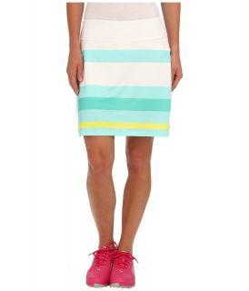 PUMA Golf Stripe Print Skirt Womens Skort (White)