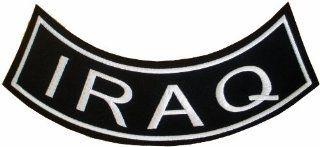 Military & Saying Rocker Patches (IRAQ) Bottom Rocker: Automotive