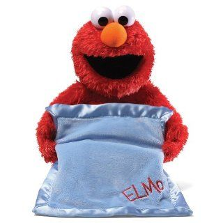 Peek A Boo Elmo Plush Sesame Street's Muppet Says Over 12 Phrases