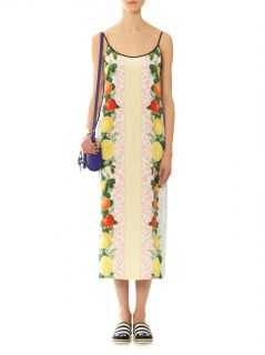 Bistra fruits print dress  Mother Of Pearl