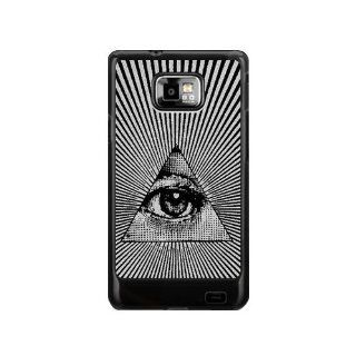 all seeing eye Hard Plastic Back Cover Case for Samsung Galaxy S2 I9100 General Version, NOT SUITABLE FOR T MOBILE OR SPRINT S2: Cell Phones & Accessories