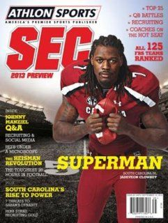 Athlon Sports 2013 College Football Southeastern (SEC) Preview Magazine  South Carolina Gamecocks Cover: Sports & Outdoors
