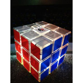 Alpha I (Type A) 3x3 Speed Cube Transparent: Toys & Games