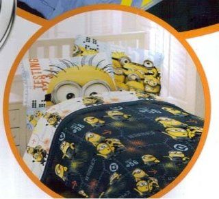 Despicable ME MINIONS 4 pc TWIN Comforter & SHEET Set   TWIN Minions Bedding