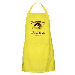CafePress All Seeing Eye Masonic Psychic BBQ Apron   Standard: Kitchen Aprons: Kitchen & Dining