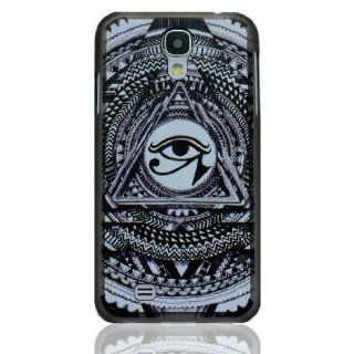 Samsung Galaxy S4 IV I9500 White Illuminati All Seeing Eye Hard Shell Cover Case Skin For Protection: Cell Phones & Accessories