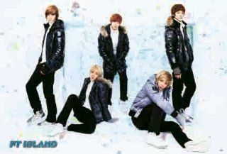 F.T. Island horiz POSTER 34 x 23.5 musical notes Korean boy band FTI FT Five Treasure (sent from USA in PVC pipe) : Prints : Everything Else