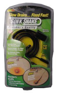 Sink Snake Drain Hair Removal Clog Tool As Seen On TV   Drain Augers