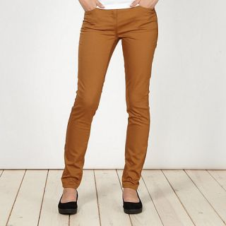 Red Herring Tan Holly super skinny jeans