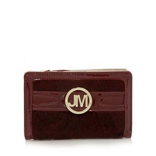Star by Julien Macdonald Designer wine faux pony hair purse