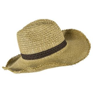 Mossimo Supply Co. Cowboy Hat with Brown Strand   Light Brown