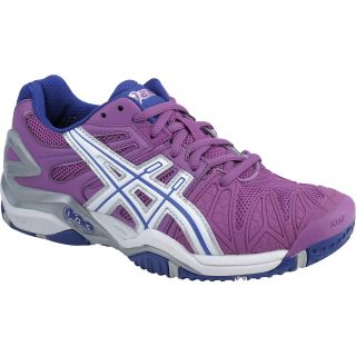 ASICS Womens GEL Resolution 5 Tennis Shoes   Size: 10, Grape/white