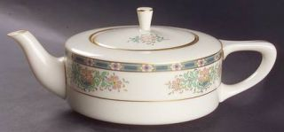 Lenox China Mystic Shape 1690 Teapot & Lid, Fine China Dinnerware   Multicolor B