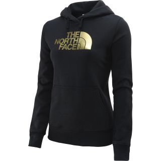 THE NORTH FACE Womens Half Dome Hoodie   Size: Medium, Black/gold