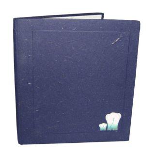 Mr. Ellie Pooh Big Dark Blue Dung Paper Sketch Book (Sri Lanka