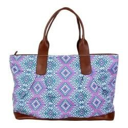 Womens Amy Butler Abina Tote Camel Blanket/Cloud