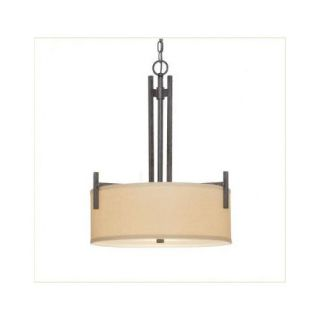Dolan Designs Tecido 3 Light Drum Pendant