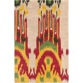 Safavieh Ikat Crane Hand Tufted Wool Area Rug