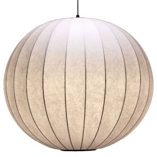 Margaux Pendant Light Cream (Includes Edison Bulb)