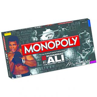 USAopoly Monopoly   Muhammad Ali Edition   Toys & Games   Family