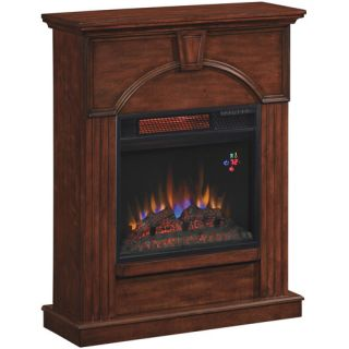 ChimneyFree Infrared Electric Fireplace, Vintage Cherry