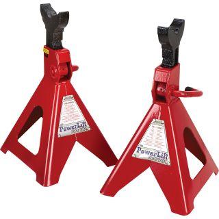 Ratcheting-Style Jack Stand Set — 2-Pc. Set, 6-Ton Capacity, Model# JS06